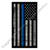 Flag with Blue Stripe -- A percentage of proceeds will go to to Backstoppers.org