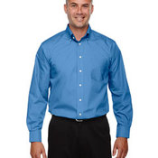 Men's Tall Crown Collection™ Solid Long-Sleeve Broadcloth